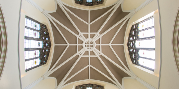 Lehigh University building ceiling