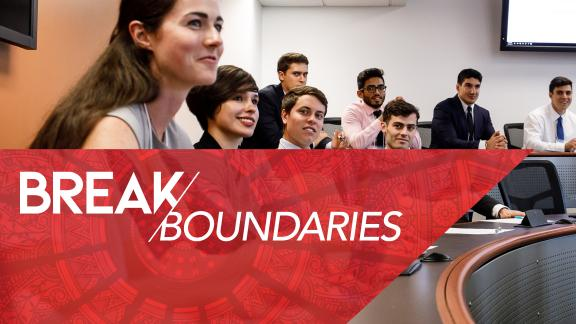 Break Boundaries - MS in Management Orientation